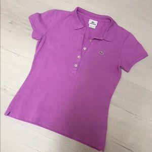 Women's Lacoste Slim Fit Polo Shirt